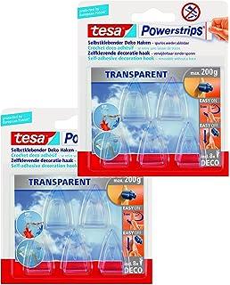 Tesa Klebehaken Transparent Für Zb Glas 1 Kg Halteleistung