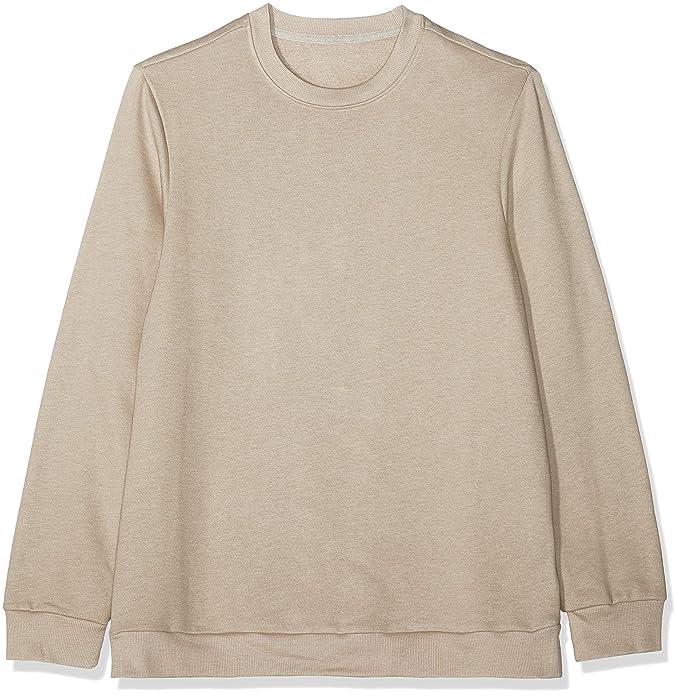 5e9f65255f1c find. Men s Cotton Crew Neck Sweatshirt  Amazon.co.uk  Clothing