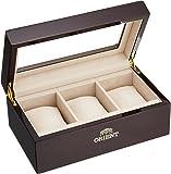 [オリエント]ORIENT コレクションボックス (木製3本) AC0501
