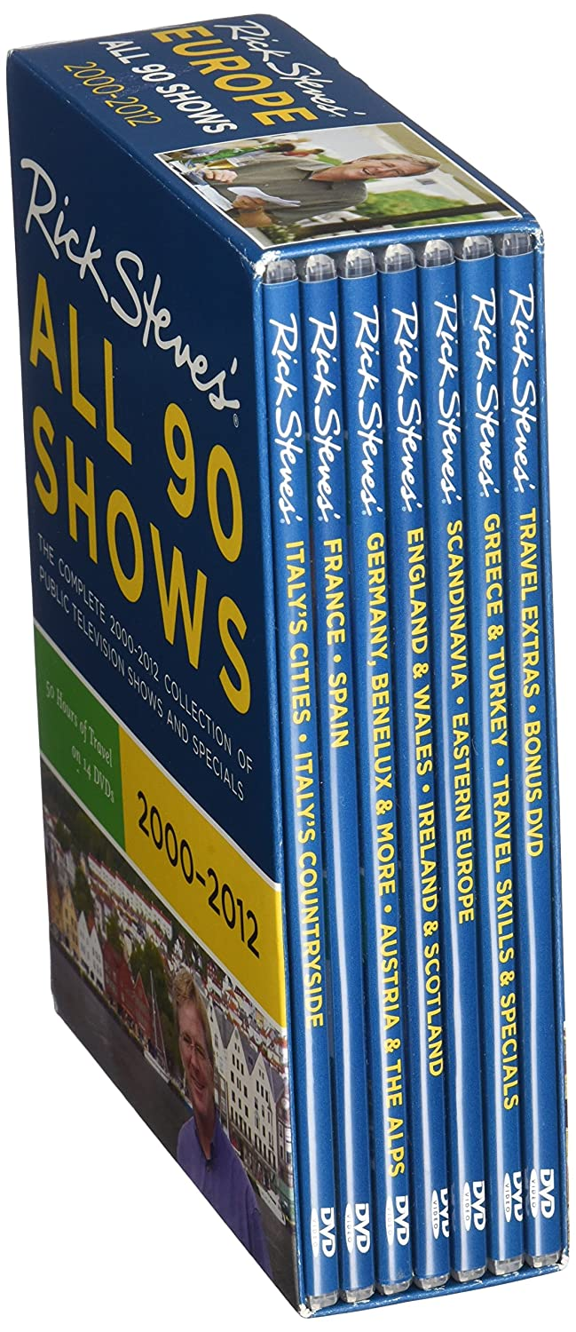 Rick Steves' Europe All 90 Shows Box Set