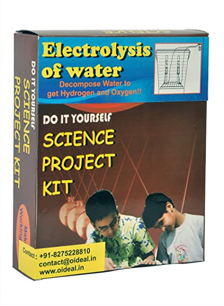 Buy electrolysis of water kit do it yourself diy working do it yourself diy working model educational learning solutioingenieria Gallery
