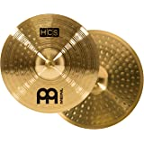 """Meinl Cymbals HCS13H 13"""" Traditional Hihat (Hi hat) Cymbals for Drum Set, Pair (VIDEO)"""