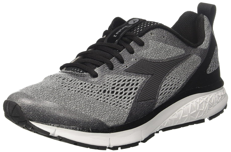 Diadora Kuruka 2, Zapatillas de Running para Hombre 44.5 EU Gris (Argento Nero)