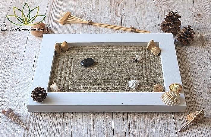 Jardin zen Japones para Interior de Hogar en estilo Feng shui.(personalizable) ॐ Zensimongardens®: Amazon.es: Handmade
