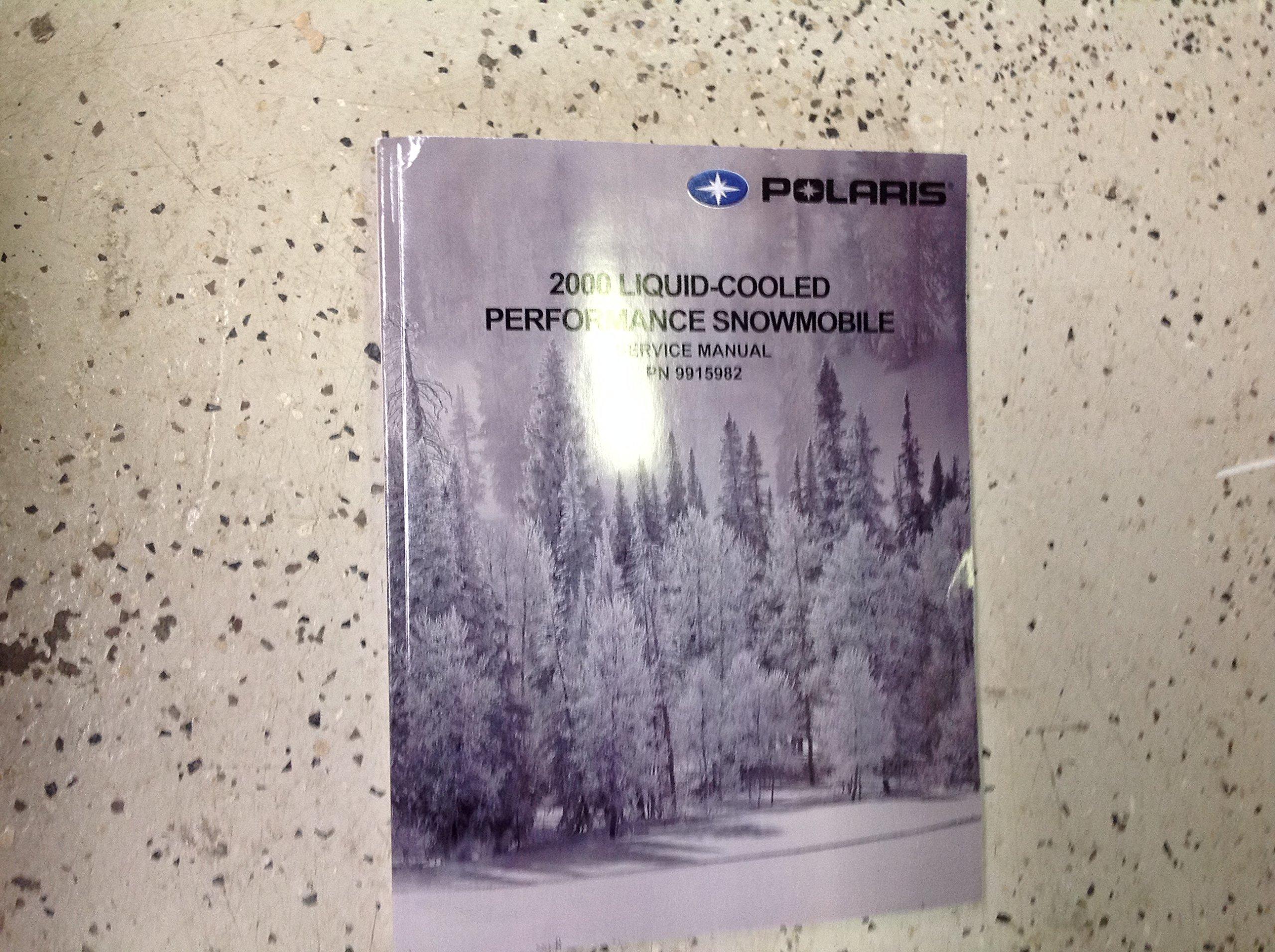 2000 Polaris 600 Xc Sp Dix Touring RMK 700 Xc Sp Dix SKS RMK 800 Service  Manual: POLARIS: Amazon.com: Books