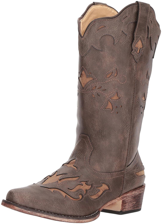 Roper Women's Spade Western Boot B074D42X9P 11 B(M) US Brown