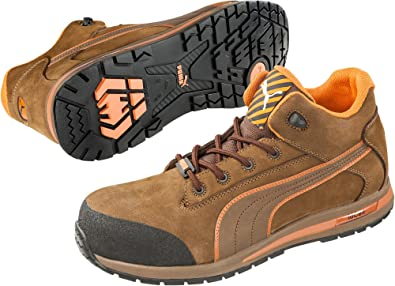 Puma Safety Dash Low EH Mens Brown N923248VX Shoes
