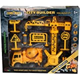 Construct A Truck-City Builder Set-Mixer.Create a city construction site, take the truck apart&put it back together+Friction powered(like 3-toys-in-1!)Award winning set that encourages creativity!