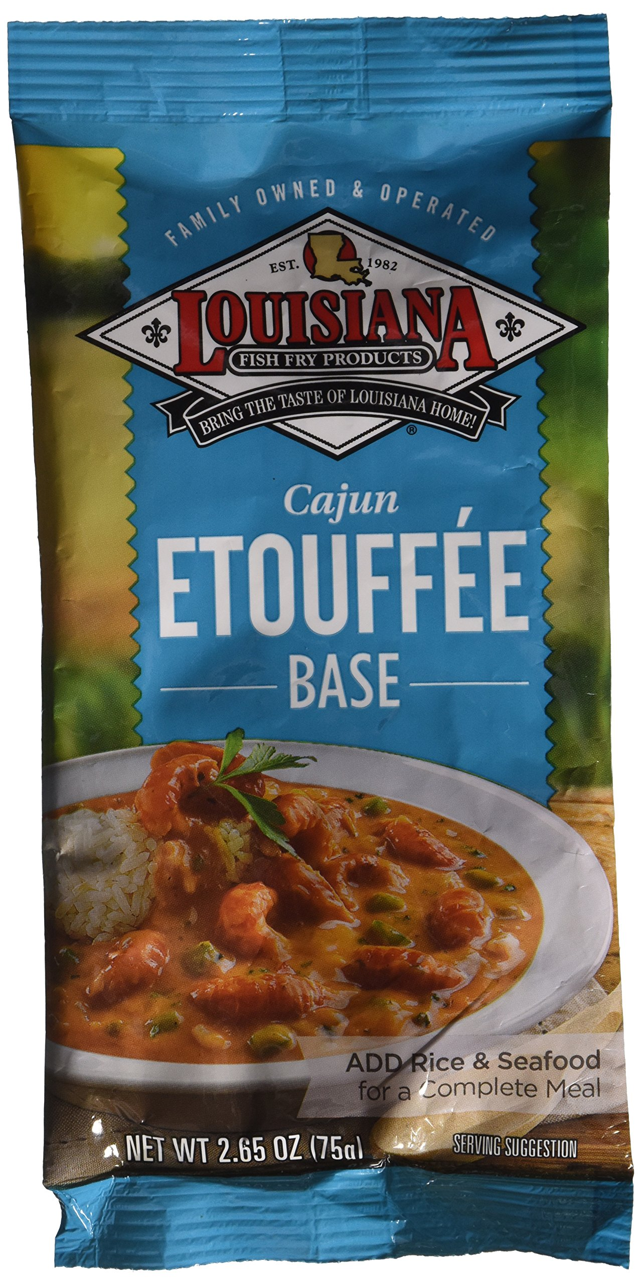 Louisiana Mix Cajun Etouffee Fish Fry, 2.65 oz