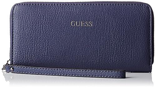 Guess - Swvn6778460, Bolsos bandolera Mujer, Blu (Navy), 2x10x21 cm (