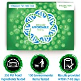 5Strands Pet Standard Package - Test 255 Food Ingredients & 100 Environmental Items - Intolerance Allergy Sensitivity At Home