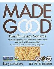 MadeGood Vanilla, Pack of 6, 132g