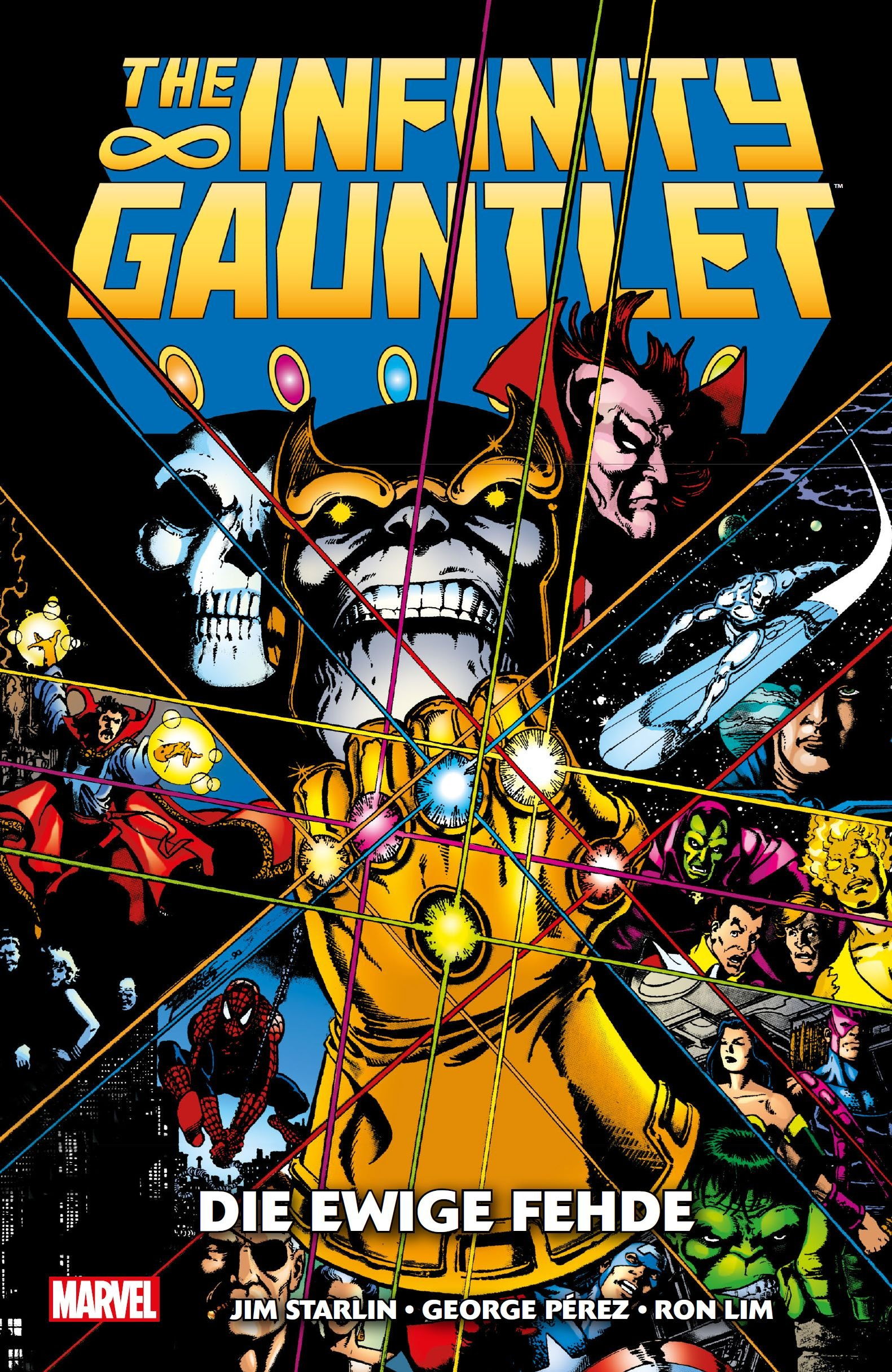 The Infinity Gauntlet Die Ewige Fehde Amazonde Jim Starlin
