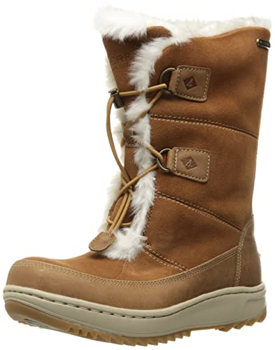 Amazon.com | Sperry Top-Sider Women's Powder Valley Snow Boot ...