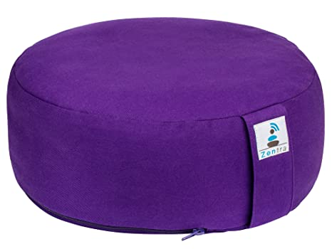 Outstanding Amazon Com Zentra Yoga Meditation Cushion With Bonus Alphanode Cool Chair Designs And Ideas Alphanodeonline