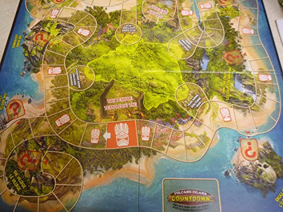 Volcano Island Countdown Game: Amazon.es: Juguetes y juegos