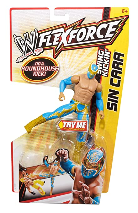 WWE FlexForce Swing Kickin Sin Cara Action Figure