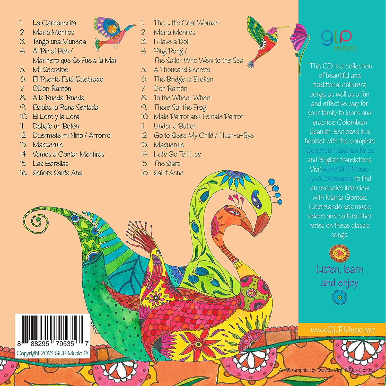 Marta Gomez - Gomez: Coloreando Dos - Traditional Songs for Children in Spanish - Amazon.com Music