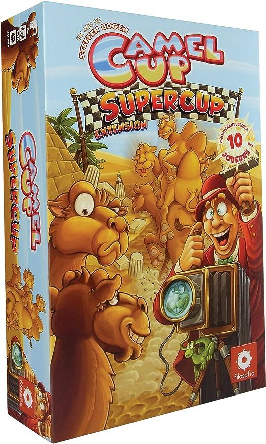 Asmodee – ficam02 extensión – Juego de Tablero – Camel Up Supercup: Amazon.es: Juguetes y juegos