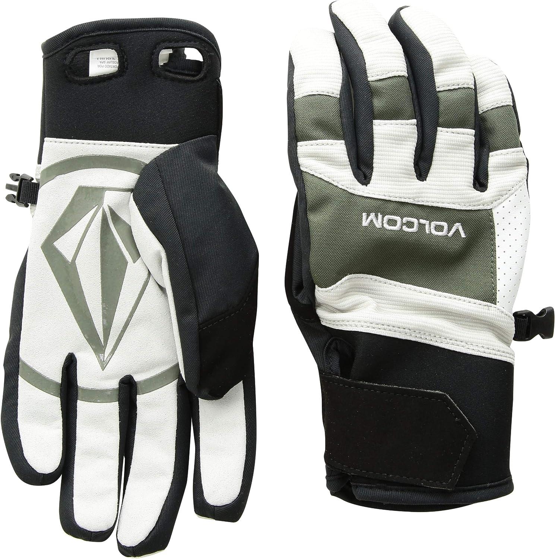 Volcom Mens Crail Waterproof Velcro Cinch Snow Glove