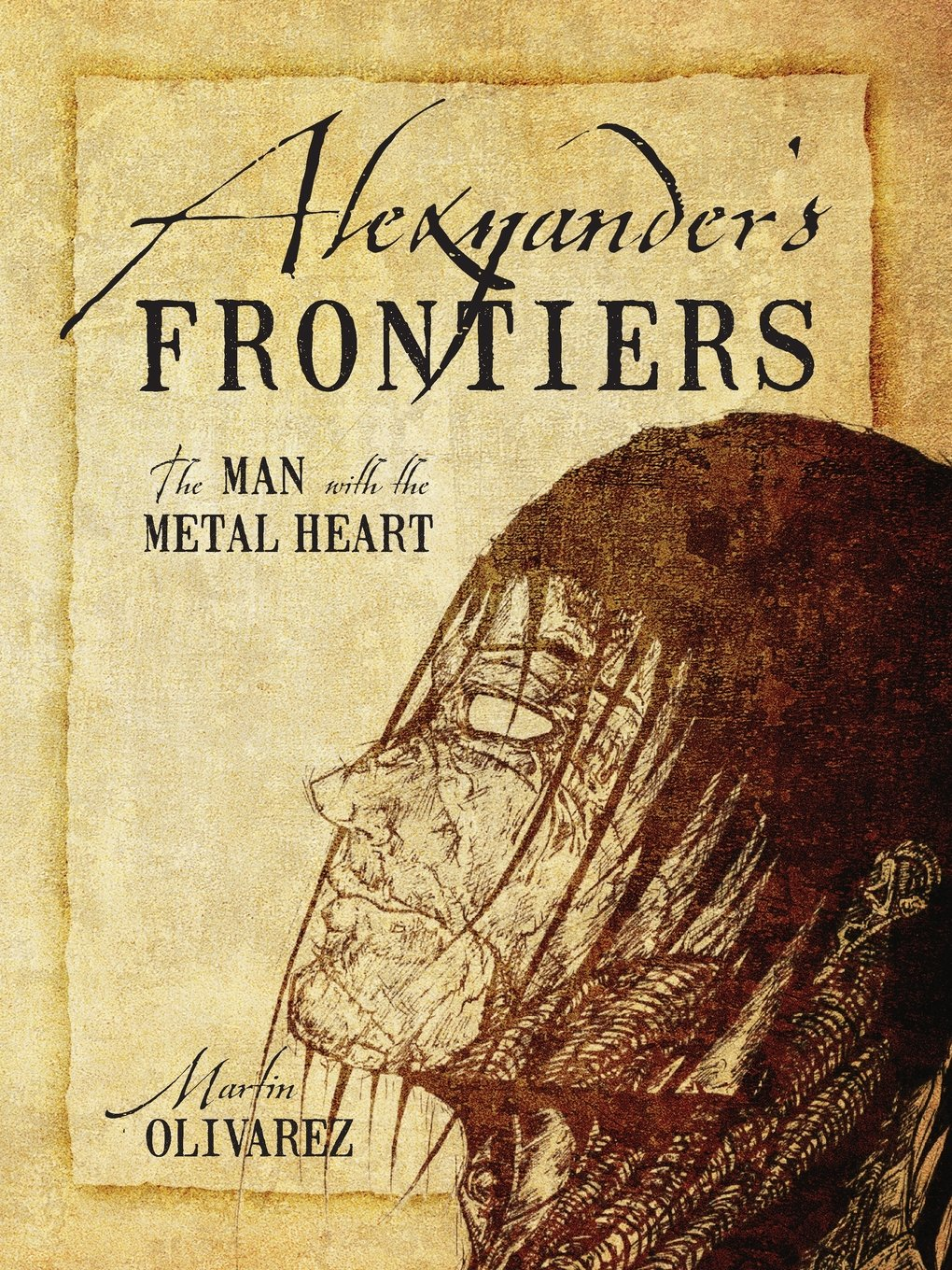 Download Alexzander's Frontiers: The Man with the Metal Heart pdf