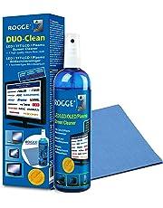 Rogge Duo Clean Origina Set di Pulizia 250ml LCD/TFT+ PulitorePlasma +1 Panno in Microfibra Vileda