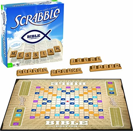 Bible Scrabble Board Games Amazon Canada