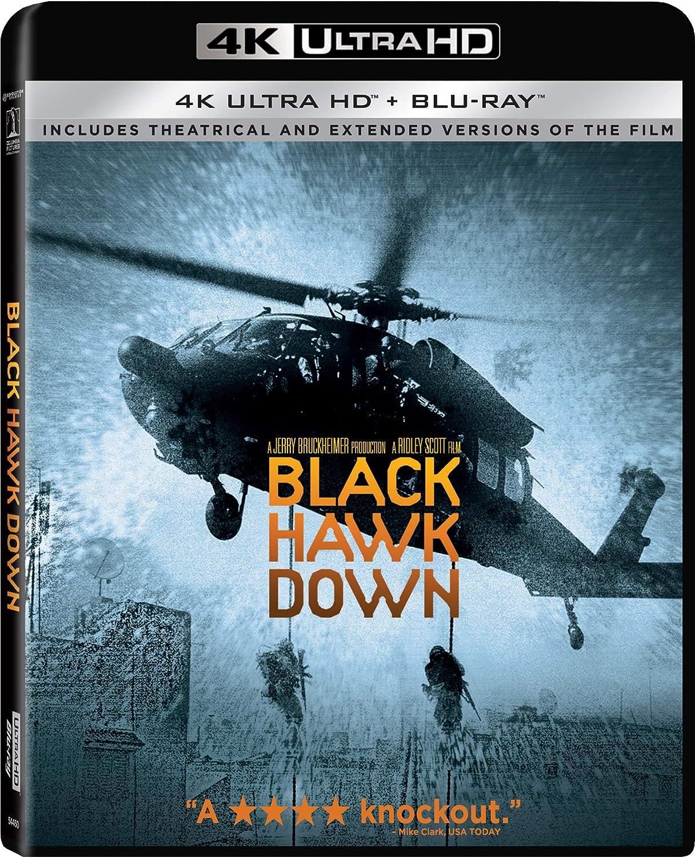 Amazon Com Black Hawk Down Blu Ray Josh Hartnett Ewan Mcgregor Tom Sizemore Eric Bana Ridley Scott Ridley Scott Jerry Bruckheimer Jeffery Beach Ken Olandt Revolution Central Productions Llc Cine Y Tv
