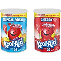 Kool Aid Tropische Punch & Cherry (één van elke kuip) 26 Quarts