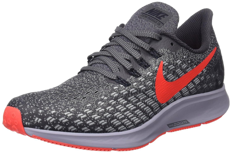 Nike Laufschuh Air Zoom Pegasus 35, Zapatillas de Running para Hombre 47 EU|Gris (Thunder Grey/Bright Crimson/Ph 006)