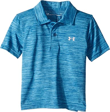 8a1749706 Under Armour Kids Baby Boy s Match Play Twist Polo (Toddler) Petrol Blue 3T