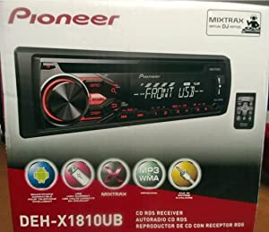 PIONEER DEH-X1810UB AM/FM CD RDS CAR STEREO RECEIVER NEW