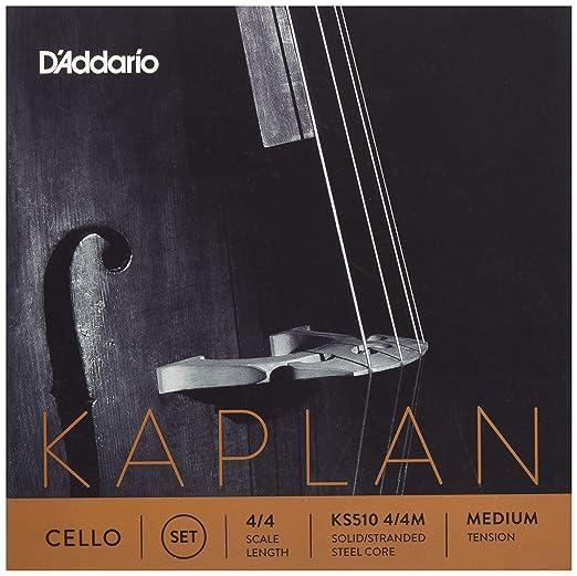 2 Sets Brand New addario Kaplan cello string set 4//4