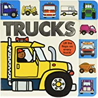 Image for Lift-the-Flap Tab: Trucks (Lift-the-Flap Tab Books)