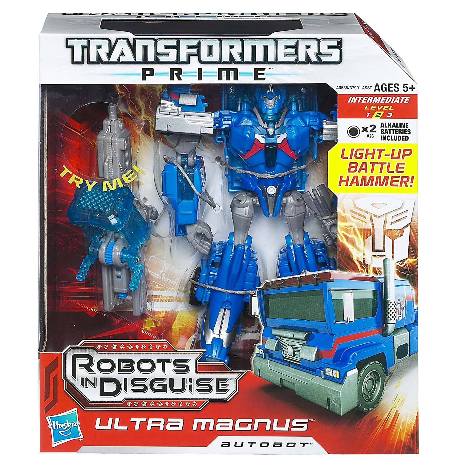 Transformers Prime Robots in Disguise Voyager Class - Ultra Magnus Figure (japan import): Amazon.es: Juguetes y juegos