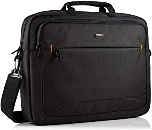 AmazonBasics 17.3-Inch HP Laptop Case Bag, Black, 1-Pack