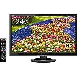 シャープ 24V型 AQUOS ハイビジョン 液晶テレビ 外付HDD対応(裏番組録画) ブラック LC-24K40-B