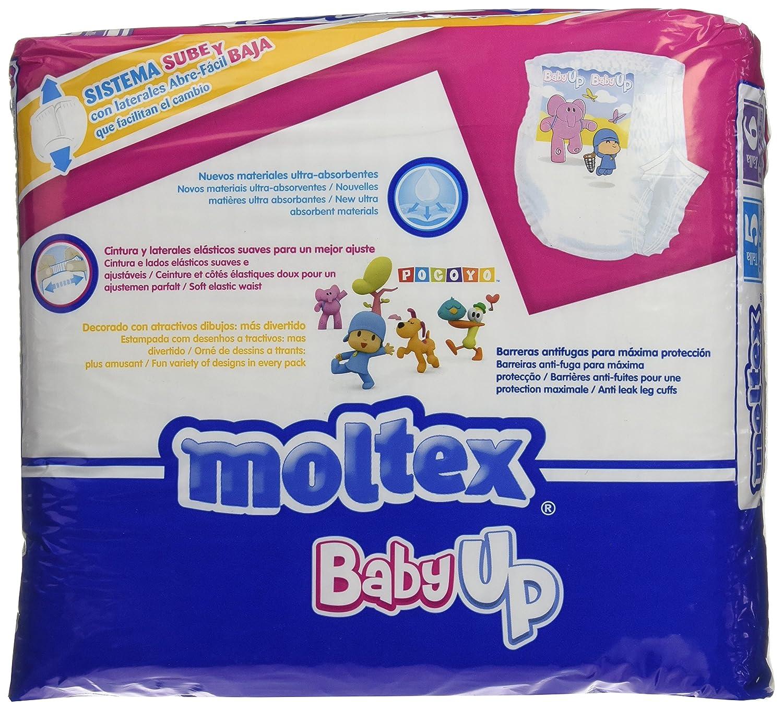 Moltex Baby Up Bolsa de Calzones Entrenadores - 30 Calzones: Amazon.es: Salud y cuidado personal