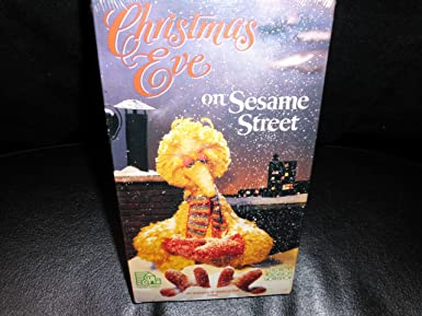 Christmas Eve On Sesame Street.Amazon Com Christmas Eve On Sesame Street Vhs Random