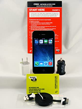 iphone no contract. apple iphone 4 16gb, black, for straight talk, no contract, prepaid, iphone contract