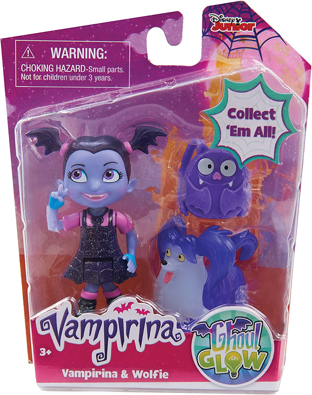 Disney JP Vampirina Bat-tastic Vampirina and Wolfie Talking Figure Set JPL78040