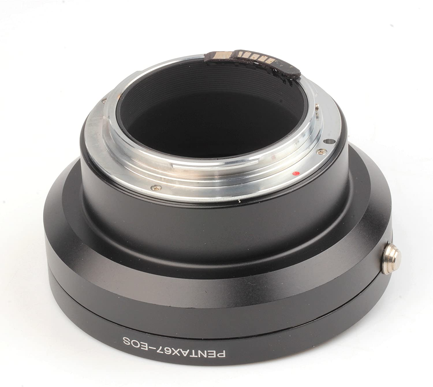 Pixco 2nd Generation AF Confirm Adapter for Pentax 67 Lens to EOS Camera