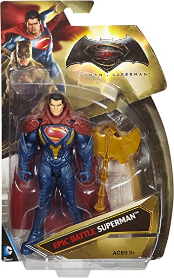 Mattel Djg35 – Batman Vs. Superman – Epic Battle Superman – Personaggio 15Cm