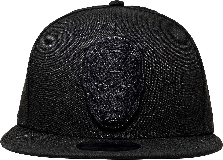 Iron Man Long Live MCU Memorial New Era 9Fifty Adjustable Hat Black