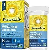 Renew Life Probiotics 30 Billion CFU Guaranteed, 12 Strains, For Men & Women, Shelf Stable, Gluten Dairy & Soy Free, 30…
