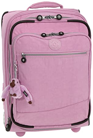 Kipling Womenu0027s Tucson Small Expandable Trolley/Cabin Size Ultra Pink