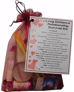 SMILE GIFTS UK Long Distance Relationship Survival Kit Gift Great Novelty Present For