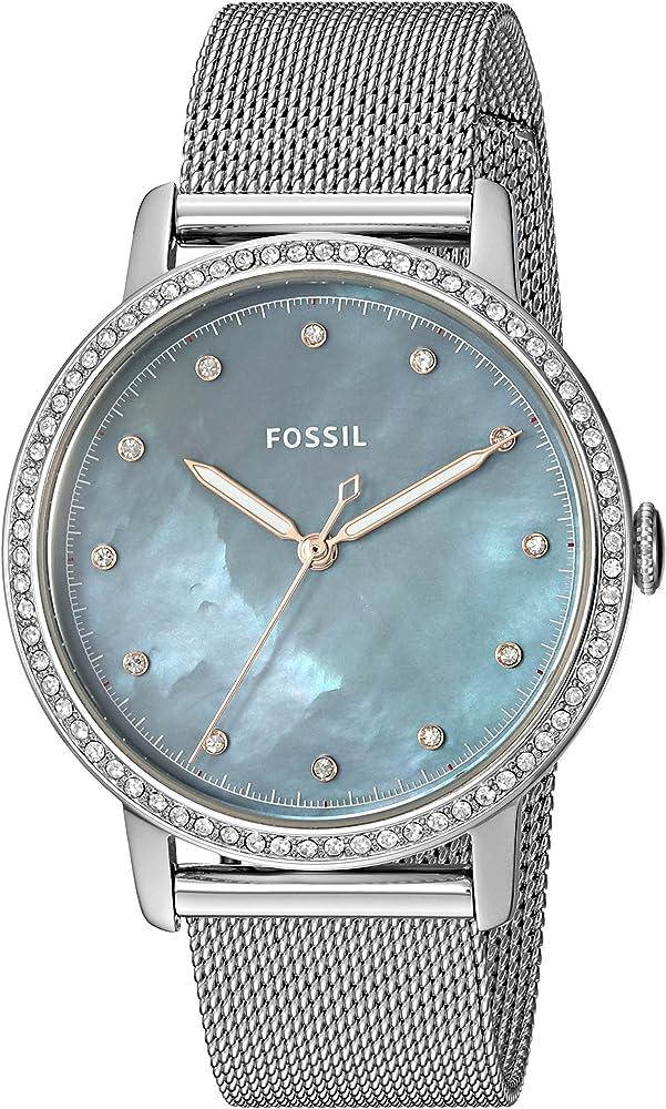 5ecaf742e866c Fossil Femme Analogique Quartz Montre avec Bracelet en Acier Inoxydable  ES4313: Amazon.fr: Montres