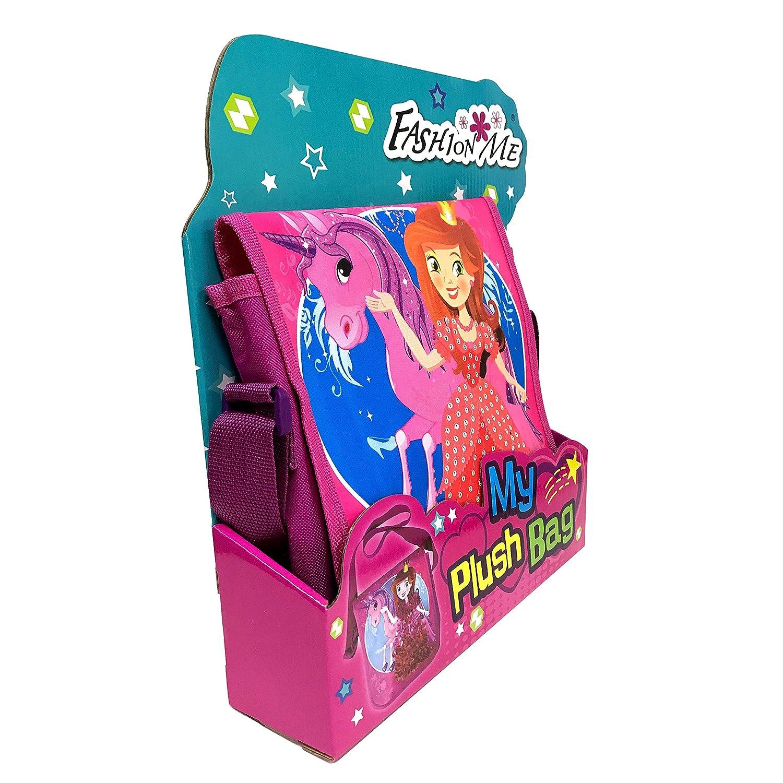 Fashion me Plush Craft Toys Bag Enjoy stationery