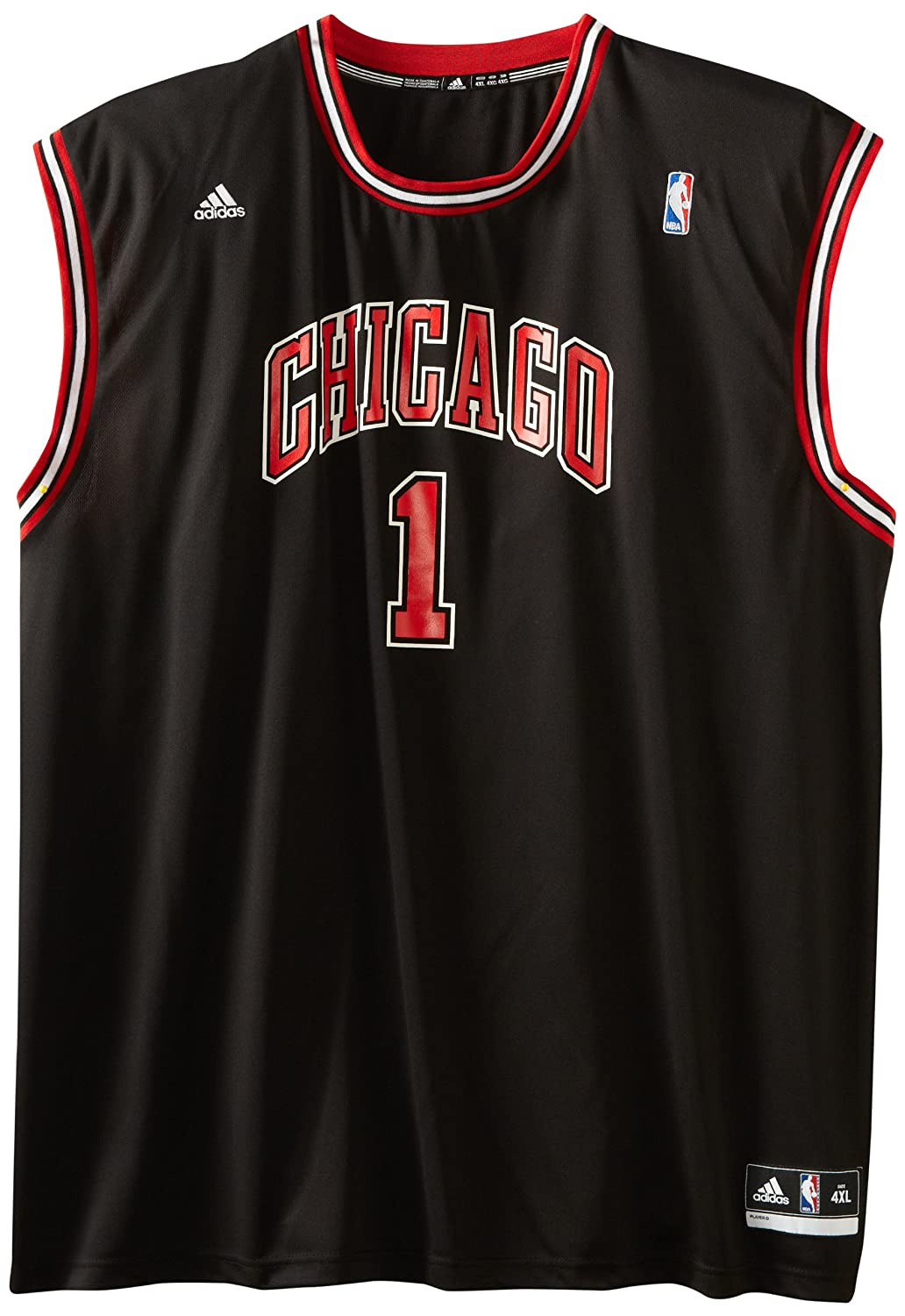 Adidas NBA Chicago Bulls Derrick Rose Revolución 30 Alternativo Road réplica de la Camiseta, Hombre, Chicago Bulls: Amazon.es: Deportes y aire libre